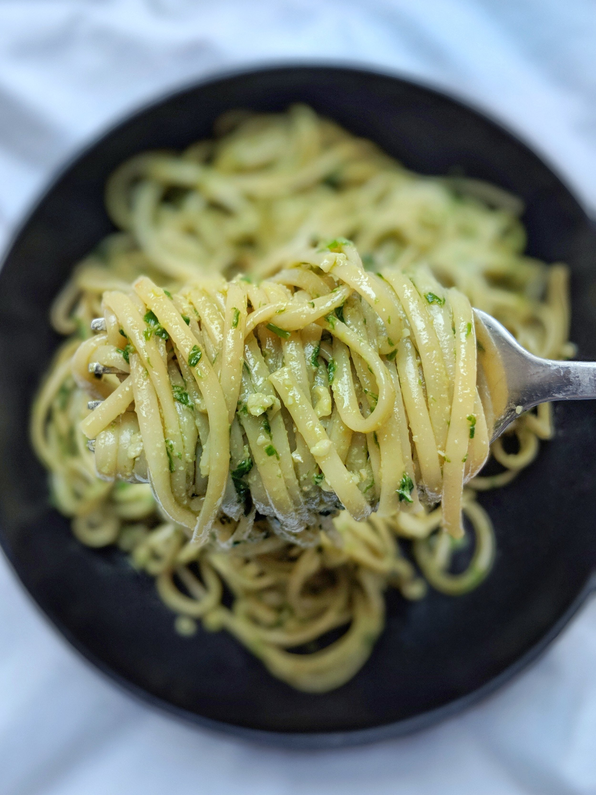 Ramp Pesto, Two Ways