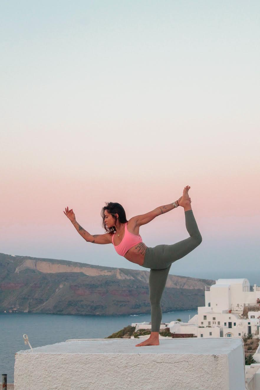 The scenery in Santorini is a photographer's dream. We're heading back in October for a  Yoga Retreat  and in April 2020 for another  Namaslay®YTT , where our trainees will get photos with these stunning backdrops for their own marketing materials.