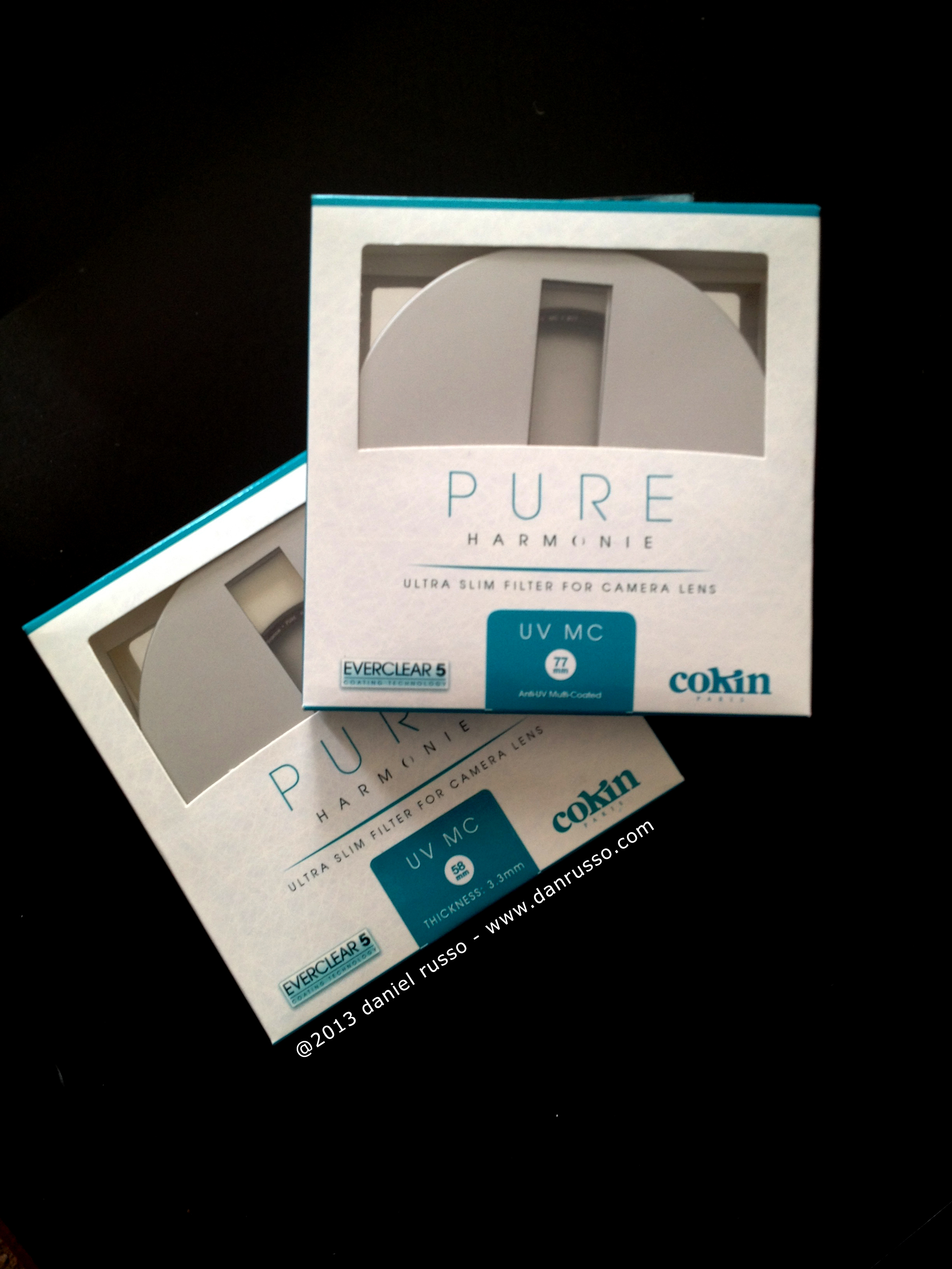 Cokin Pure Harmonie Filters (Front)