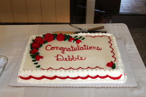 Debbie Kennedy's Reception