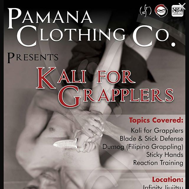 Last day to pre-register online.  Event date is tomorrow Dec 5th 1pm. #dumog #Filipinomartialarts #kalimethod #pamanaclothingco #weapontraining #grappling  http://pamanaclothingco.com/kali-method/sd