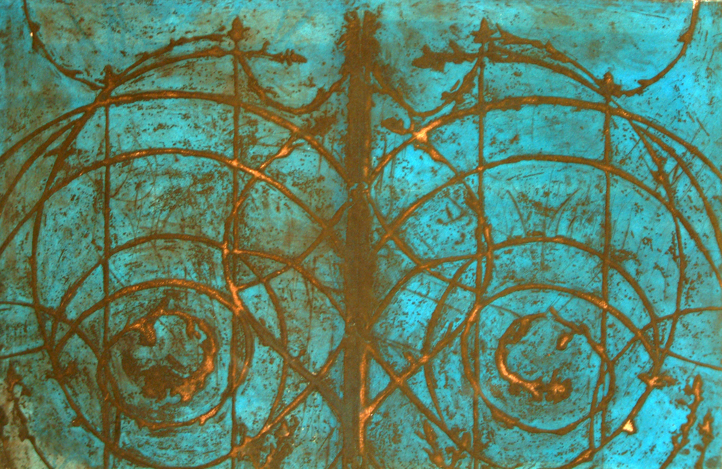 Italian Gates, Turquoise