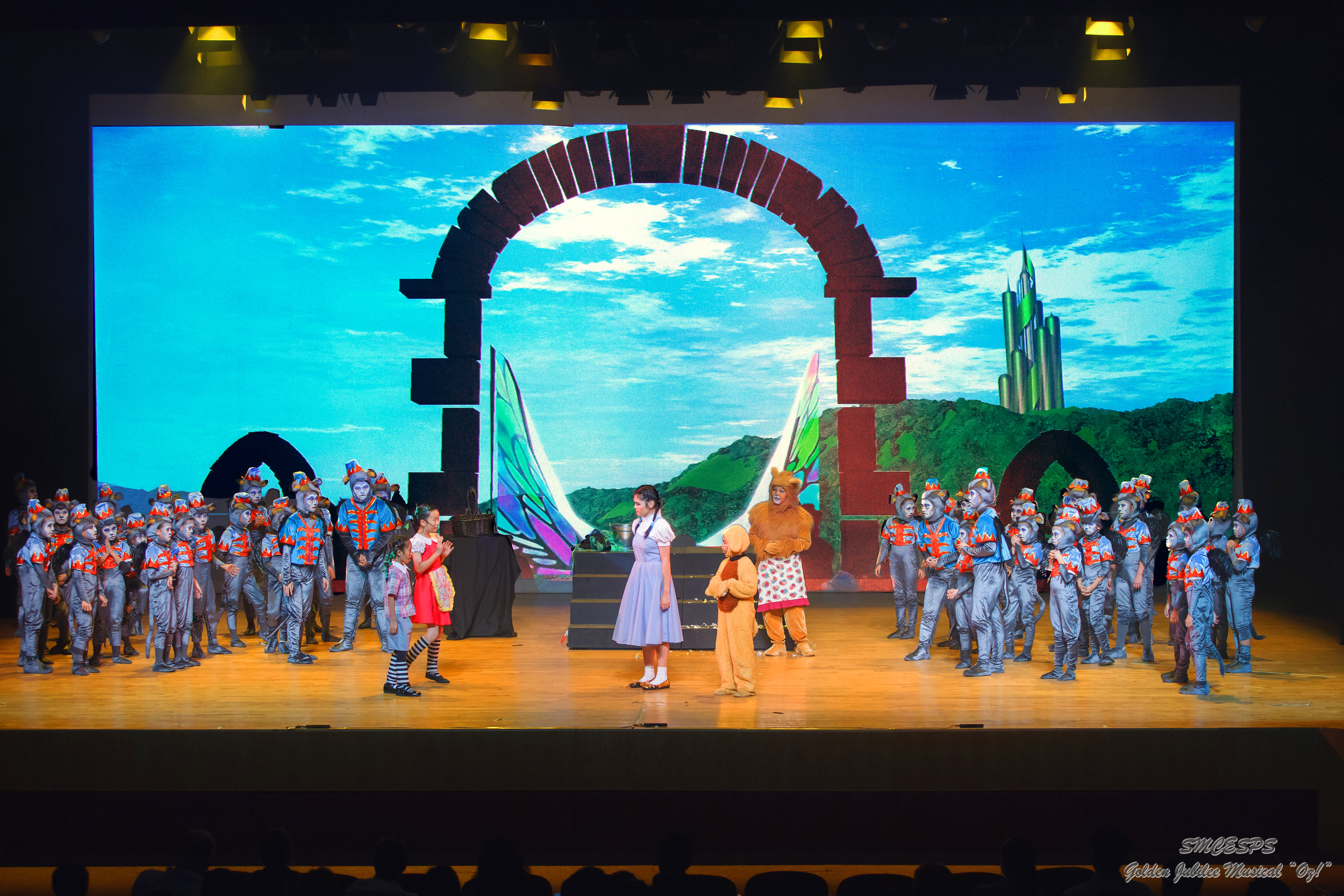 St.Margaret's production of  The Wizard of Oz