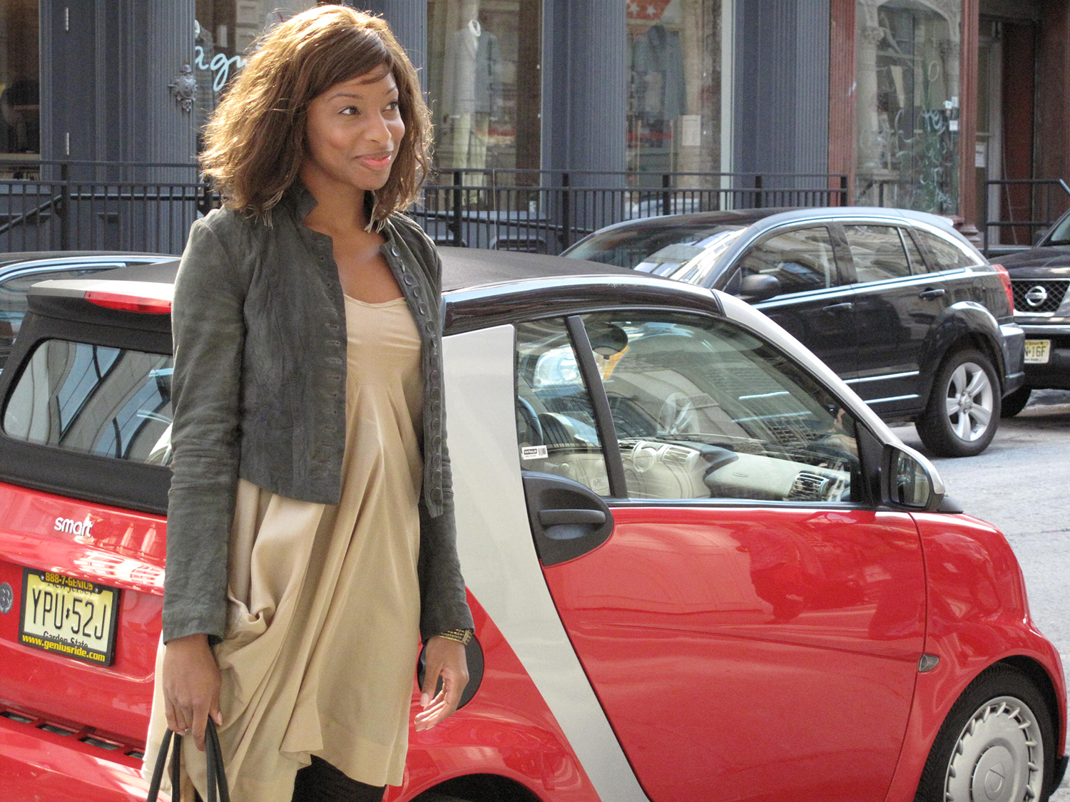 Morgan Gantt describes the virtues of driving a Smart Car in Soho, NYC.