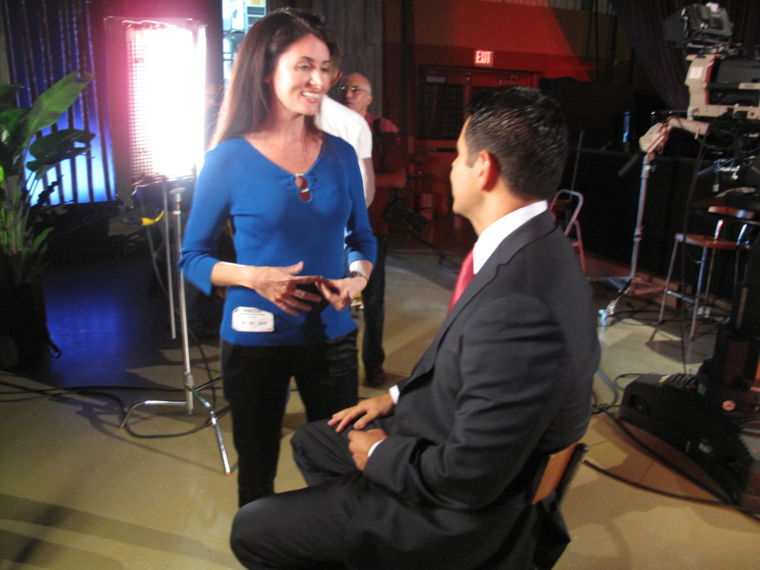 Kyla always makes clients enjoy their time in front of the camera. Cesar was in good hands!