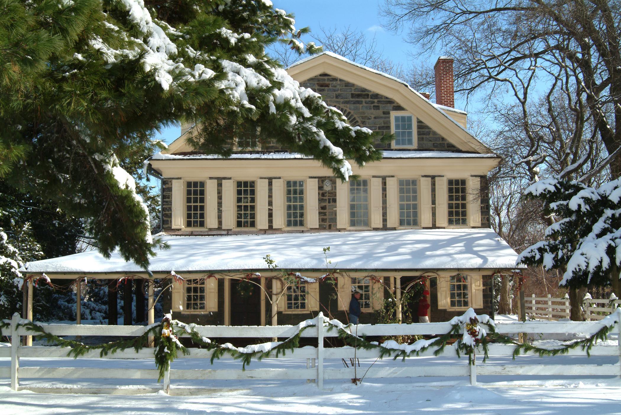 Cedar Grove on a lovely winter morning.