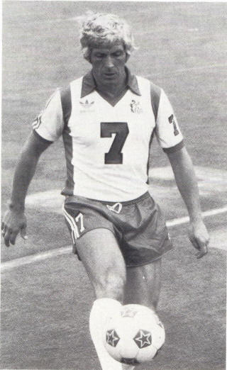 ICONIC:  Woodward  still Wearing tha No 7 shirt, this time for the Roughnecks in his adopted home ofTulsa.