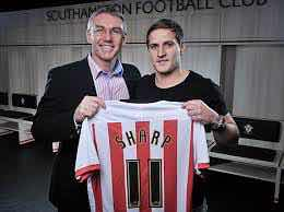 TRUE COLOURS:  NIGEL ADKINS IS HOPING TO SIGN BILLY SHARPFOR A THIRD TIME