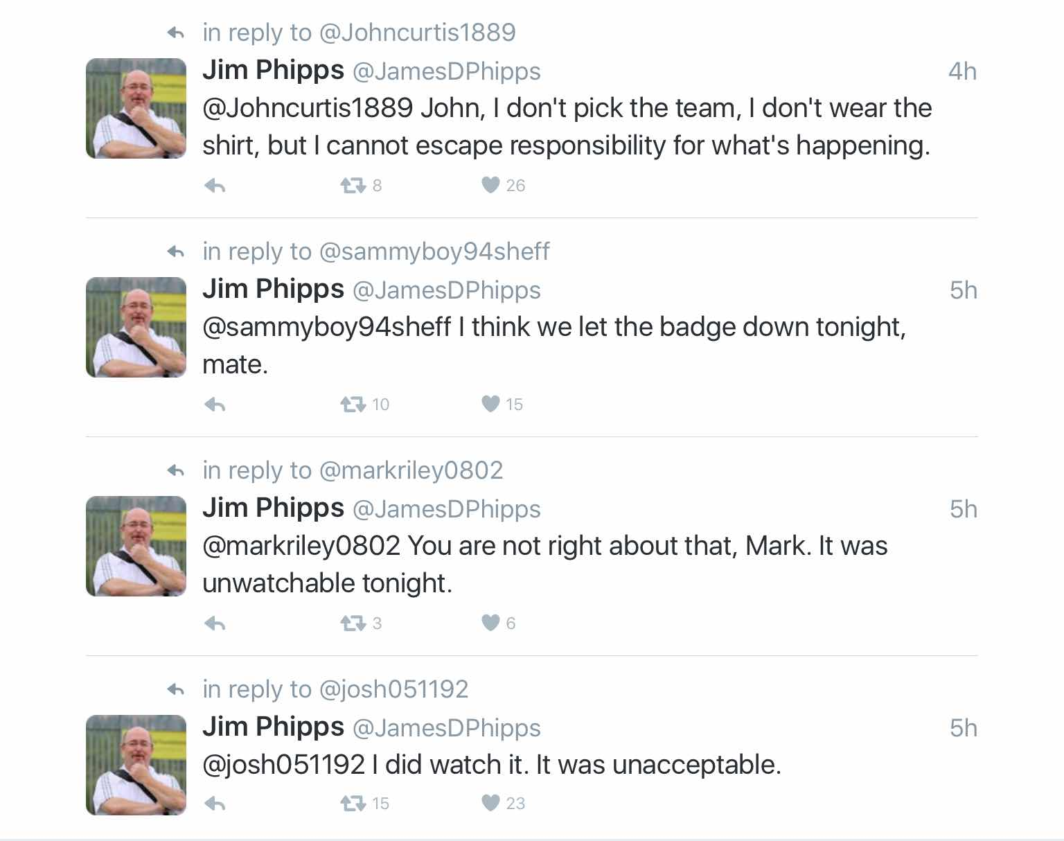 OUCH!  BLADES CO-CHAIRMAN JIM PHIPPS ON TWITTER