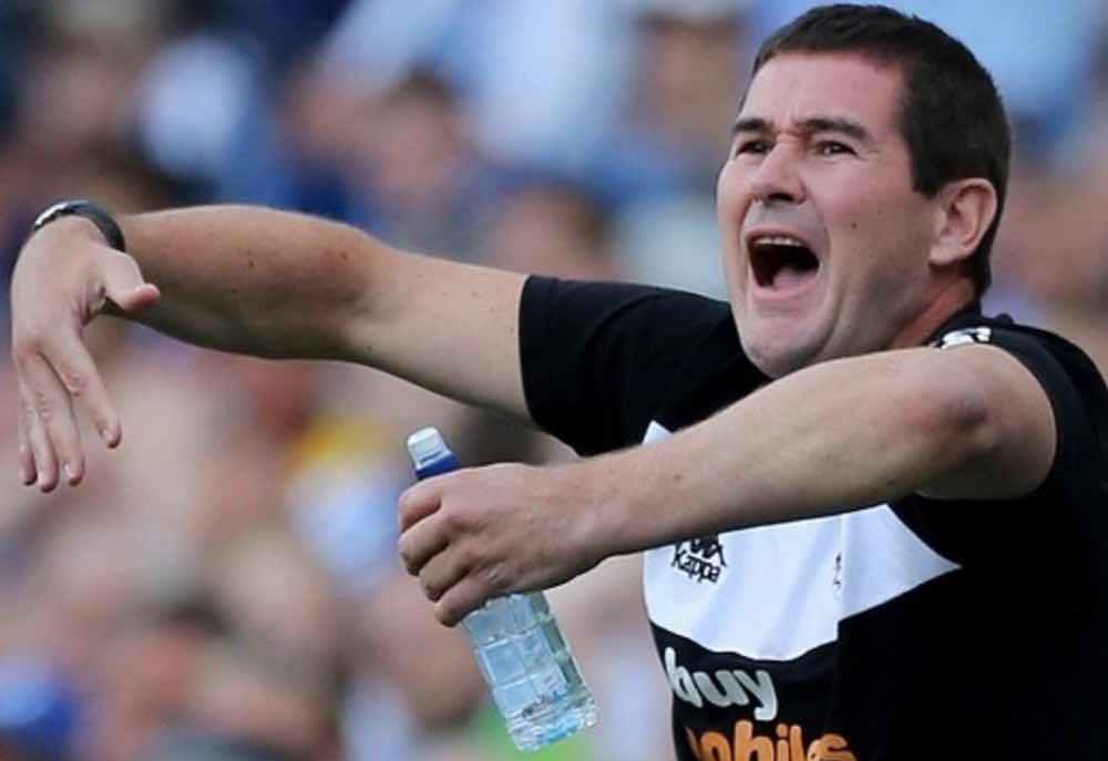 CALLING THE SHOTS:  BURTON BOSS NIGEL CLOUGH