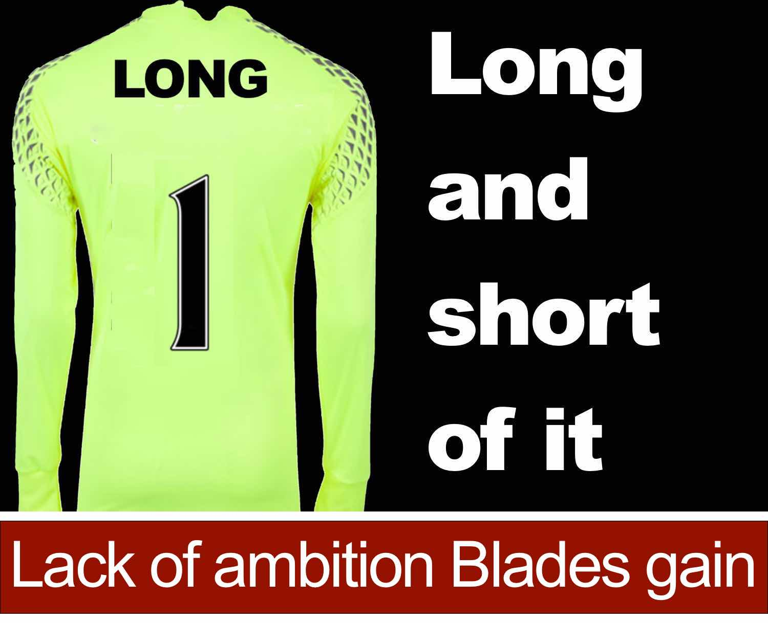 Sheffield United goalkeeper George Long's lack of ambition is Blades gain