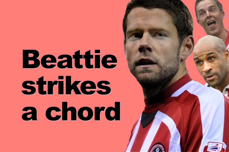 James Beattie former Sheffield United striker