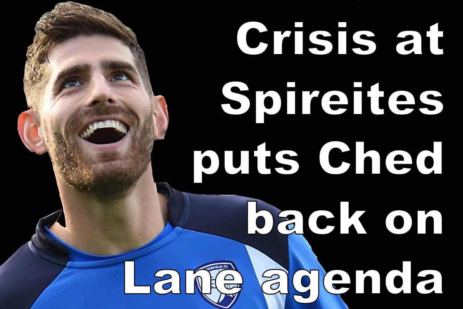 Ched Evans is renewed target for Sheffield United as Spirites are hit by financial crisis