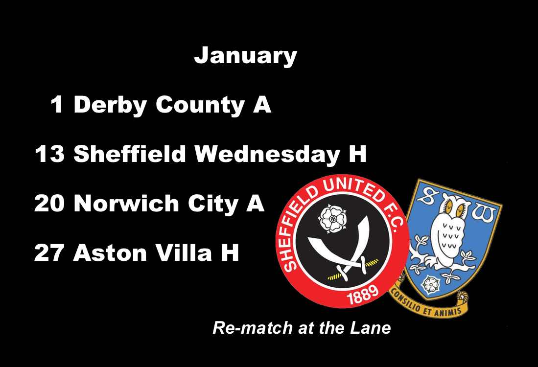 Sheffield United fixtures: Steel City re-match when Sheffield Wednesday step onto the hallowed turf at Bramall Lane
