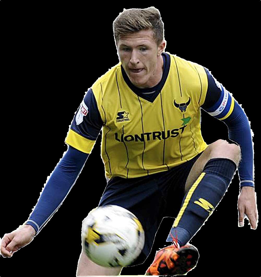 NEW TARGET? - Oxford United captain John Lundstram is on United's radar