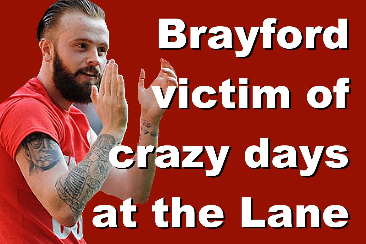 John Brayford is victim of crazy days in the past at Bramall Lane