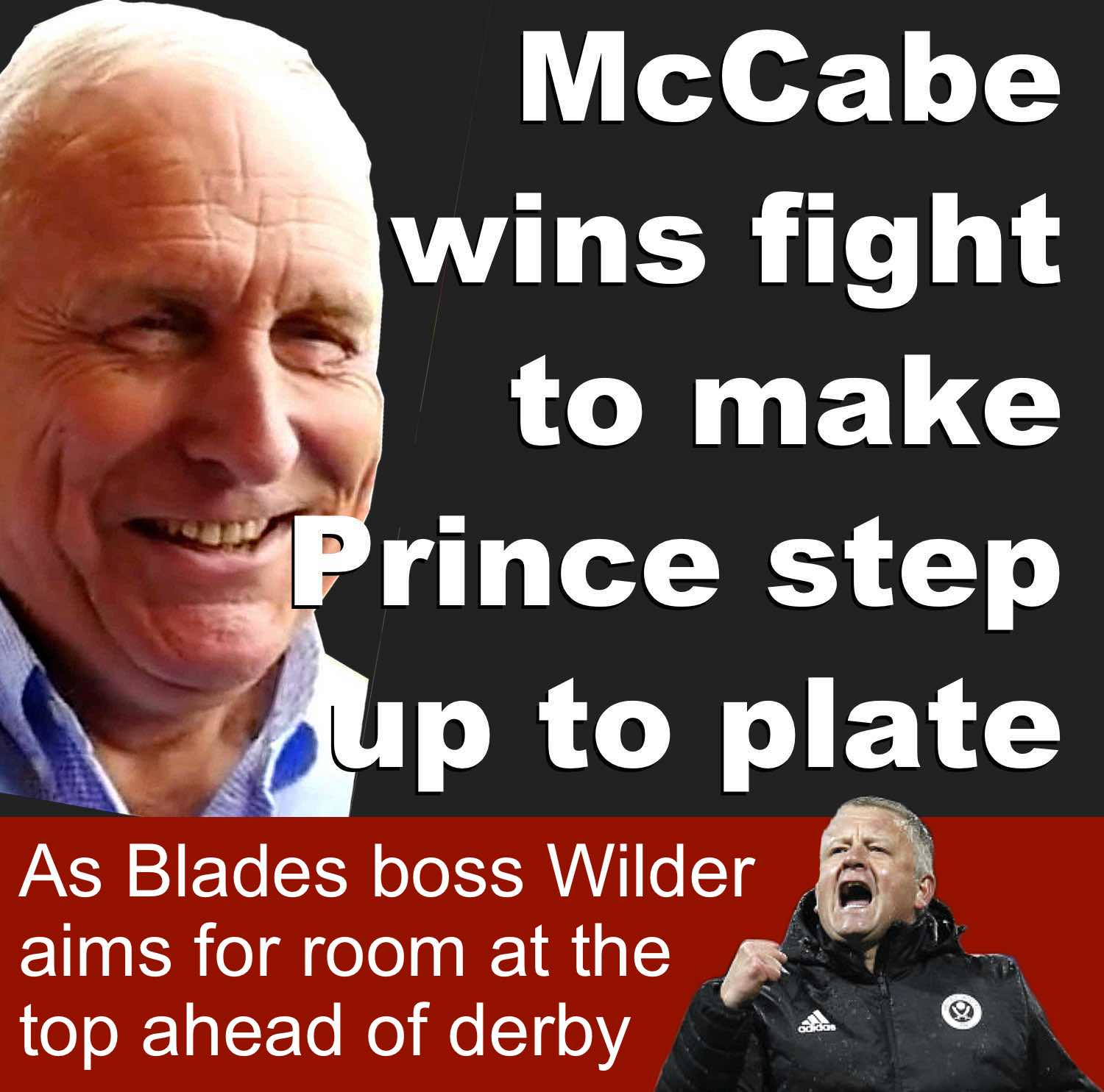 Sheffield United co-owner Kevin McCabe wins fight to make Saudi partner deliver on promise as Blades boss Wilder aims for room at the top