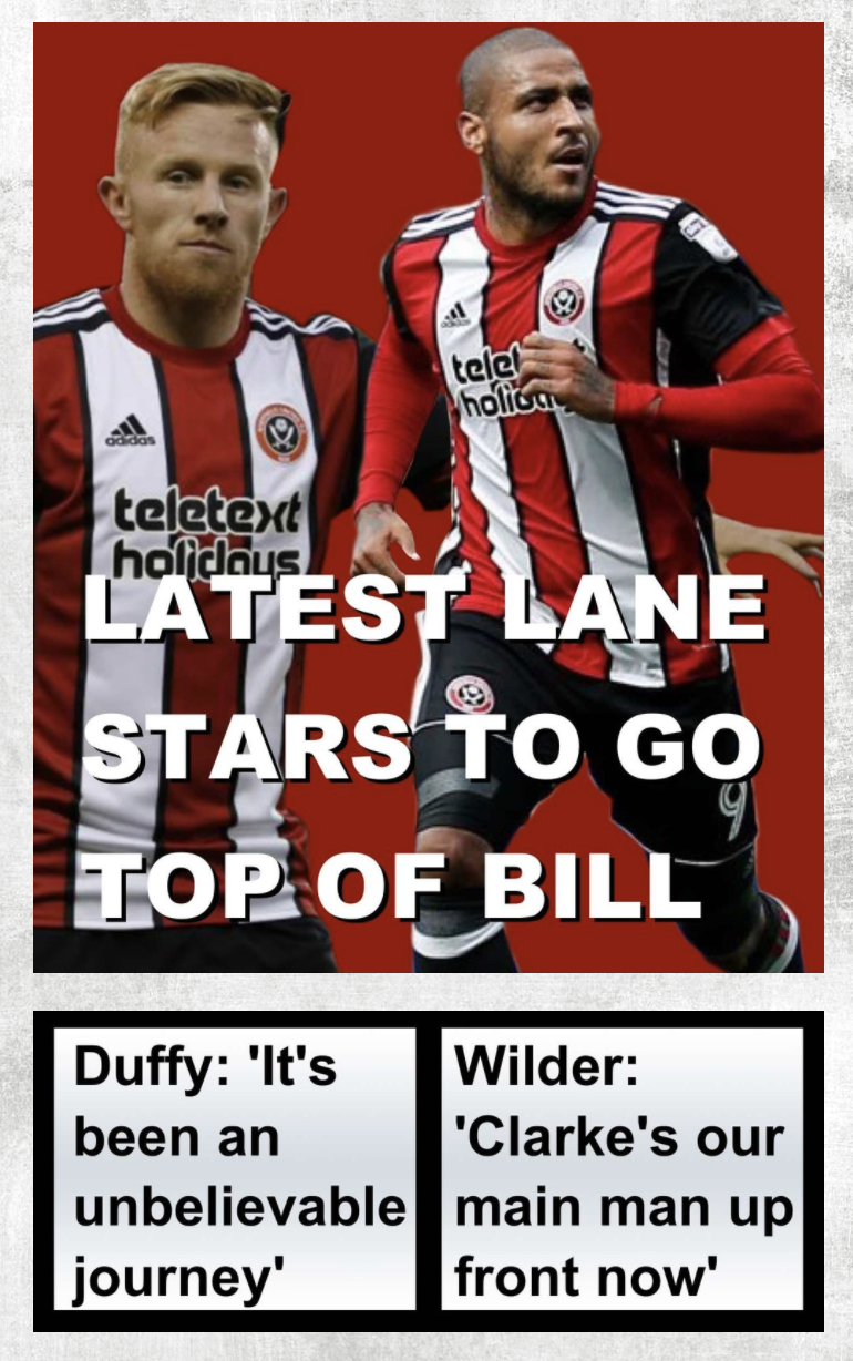Mark Duffy and Leon Clarke latest Sheffield United stars to go top of the bill at Bramall Lane