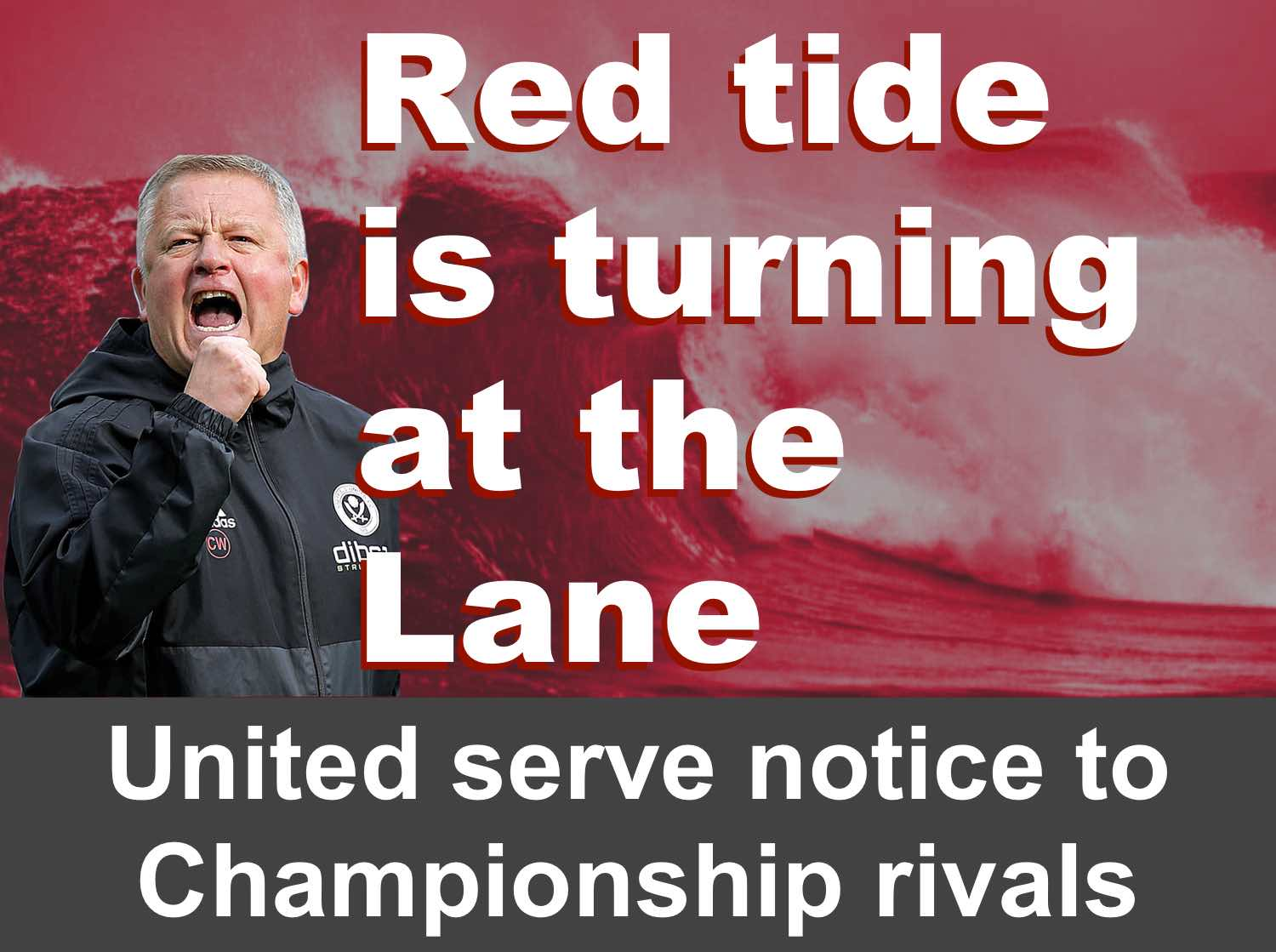 Sheffield United serve notice to Championship rivals as red tide turns for Blades at Bramall Lane