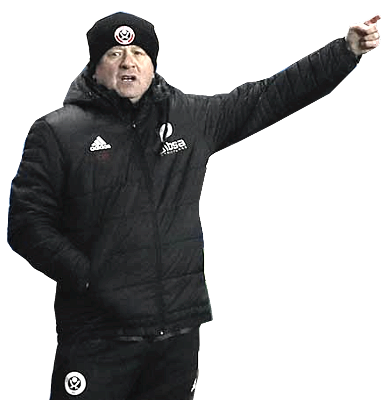 POINTING THE WAY:  CHRIS WILDER