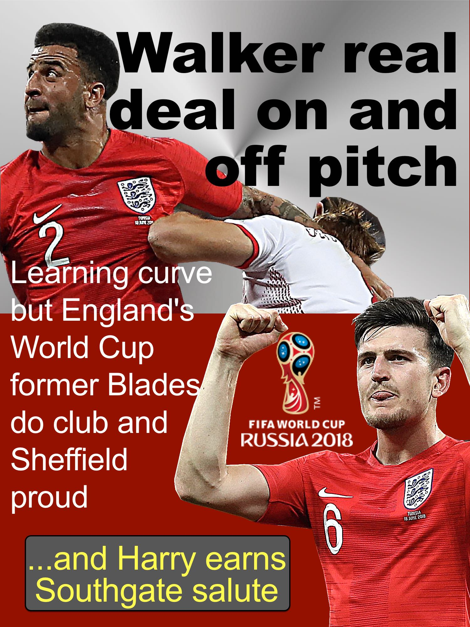 Former Sheffield United stars and lifelong Blades fans are real deal for England on World Cup stage