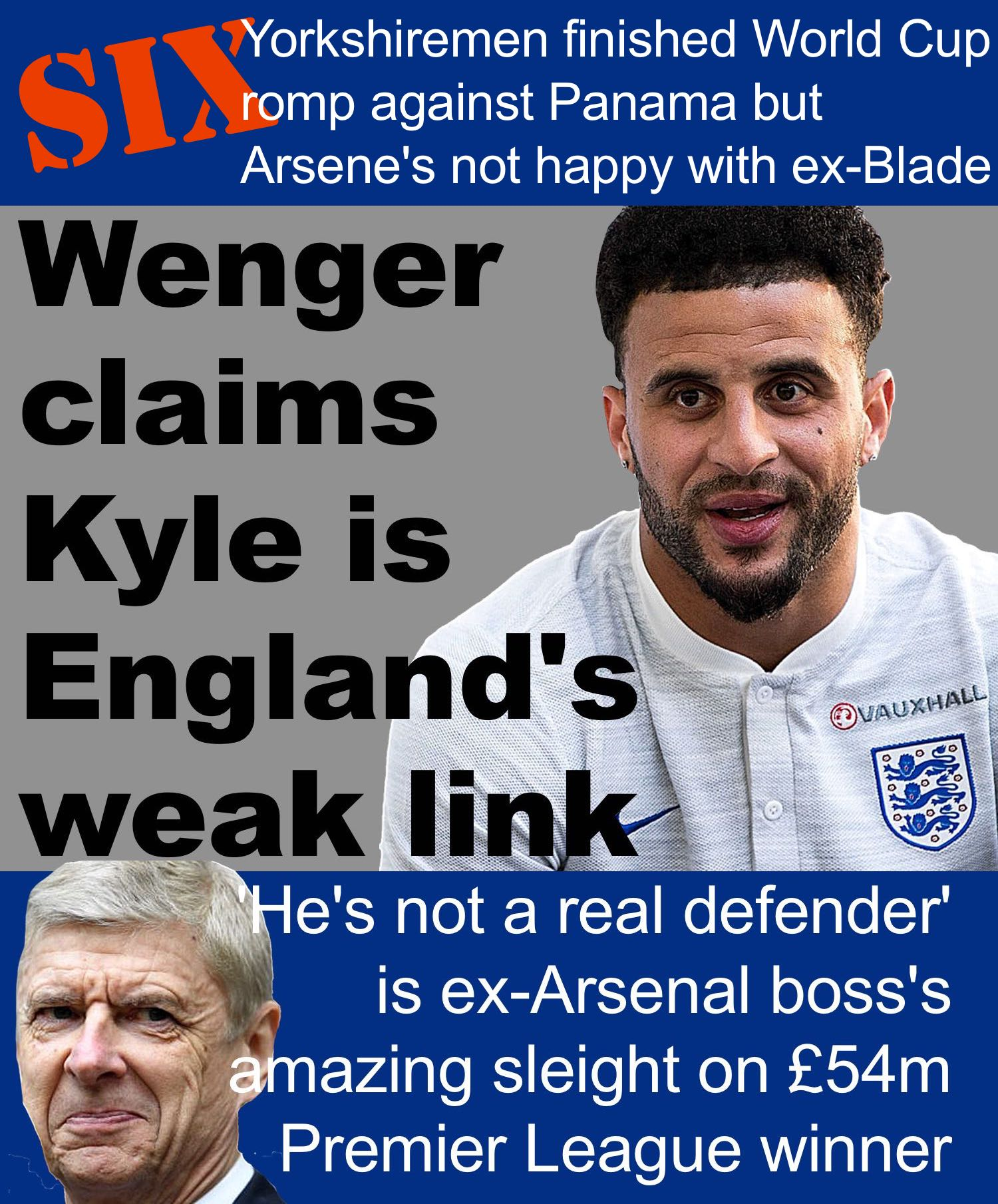 Former Sheffield United's World Cup defender subject of astonishing attack from ex-Arsenal boss Arsene Wenger
