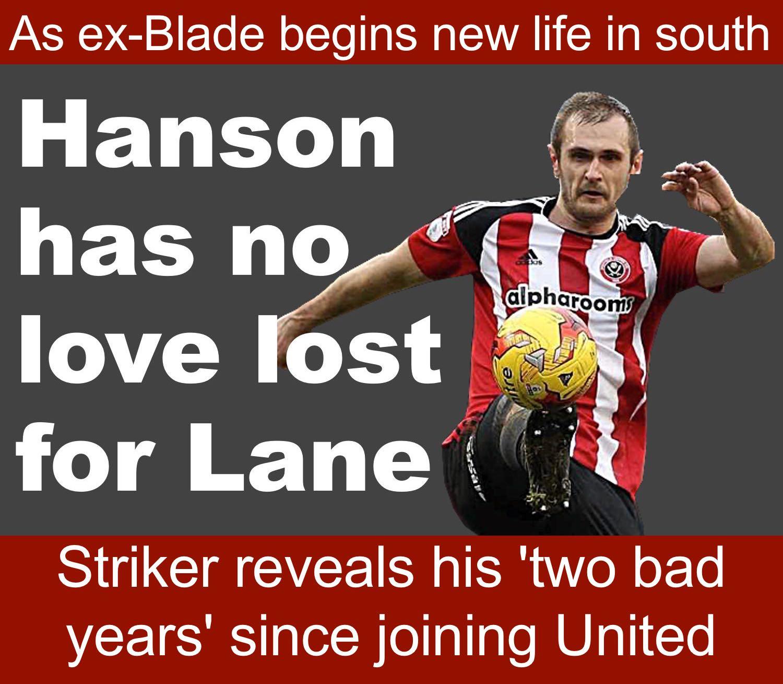 Former Sheffield United striker has few fond memories of his time at Bramall Lane