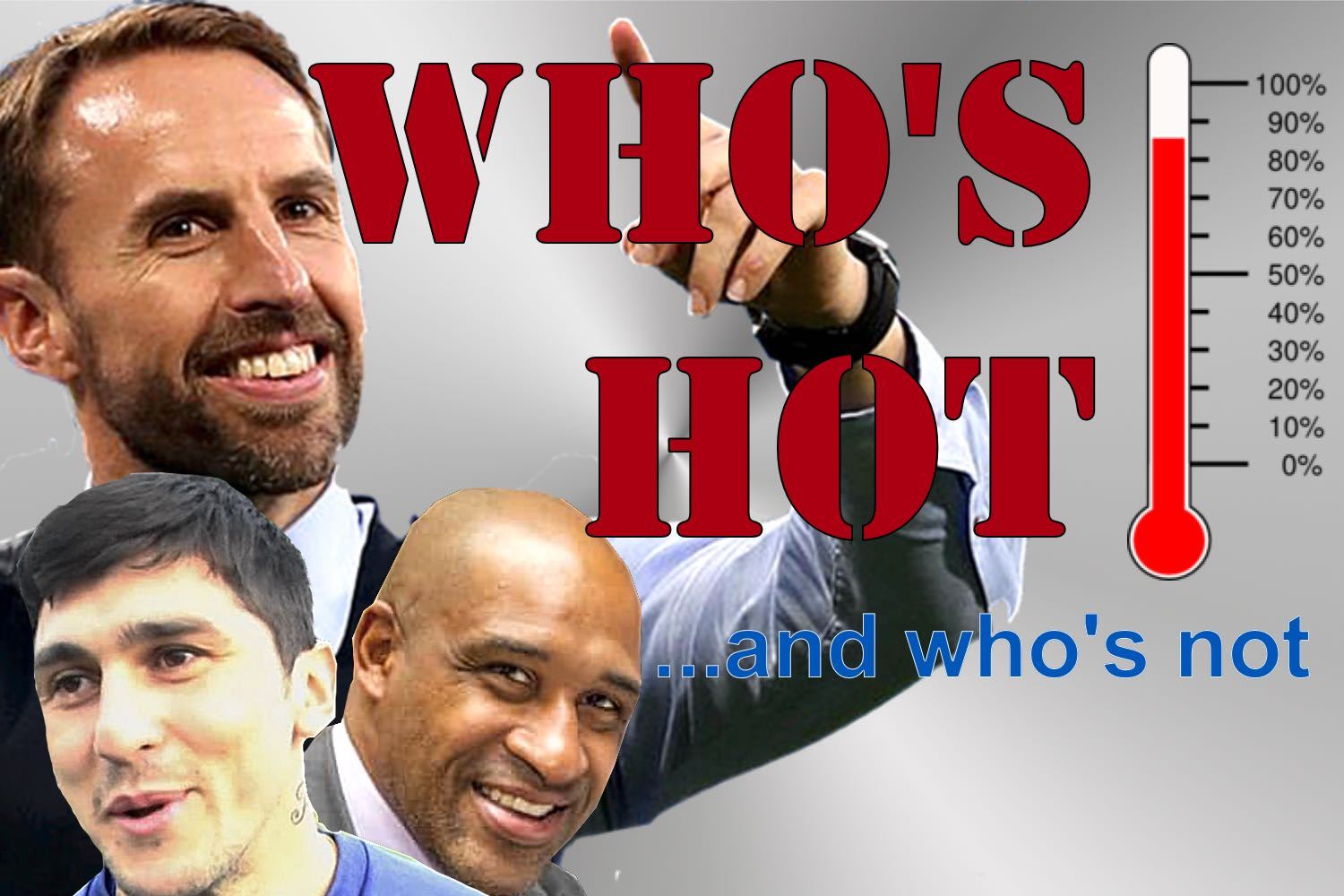 Who's hot who's not...Sheffield United's former striker Brian Deane, England boss Gareth Southgate and Sheffield Wednesday hitman Fernando Forestieri