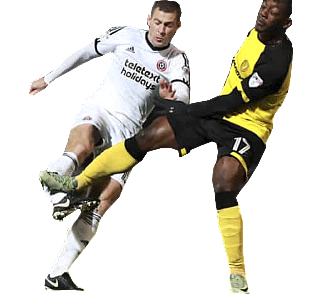 BREAKING BAD - Moment Paul Coutts' season was over after this tackle by Burton Albion's Marvin Sordell.