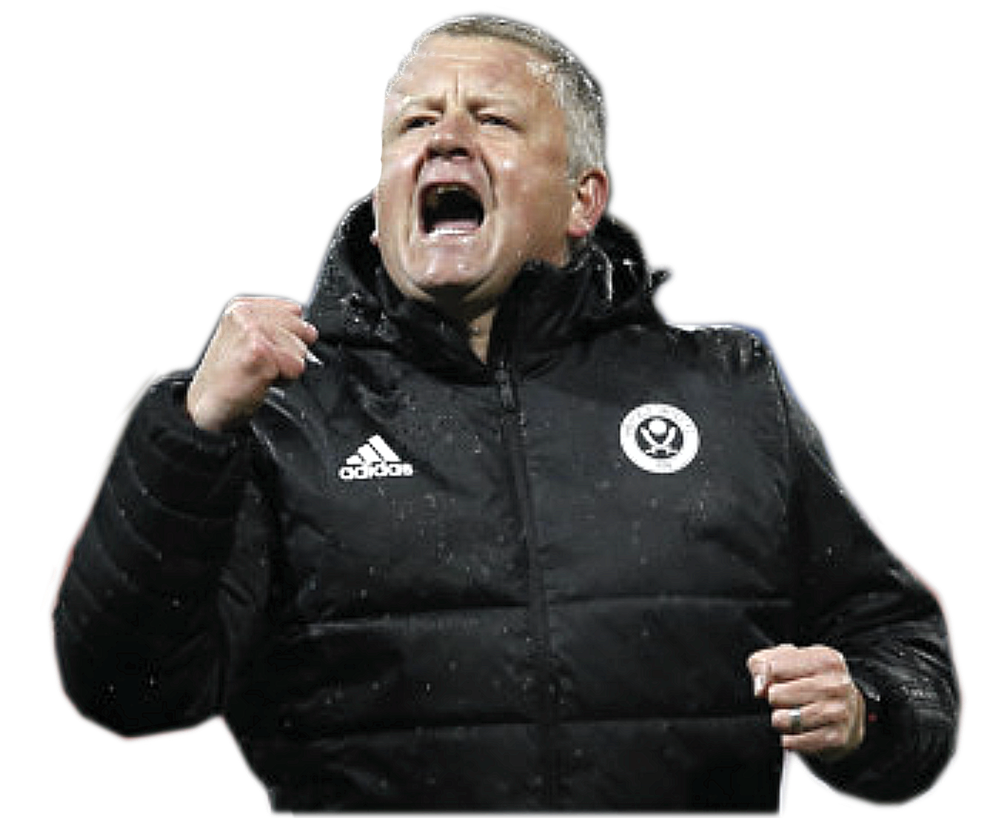 100% Blade - Chris Wilder, managing the club he supports, has played for and was even a ball boy at Bramall Lane.