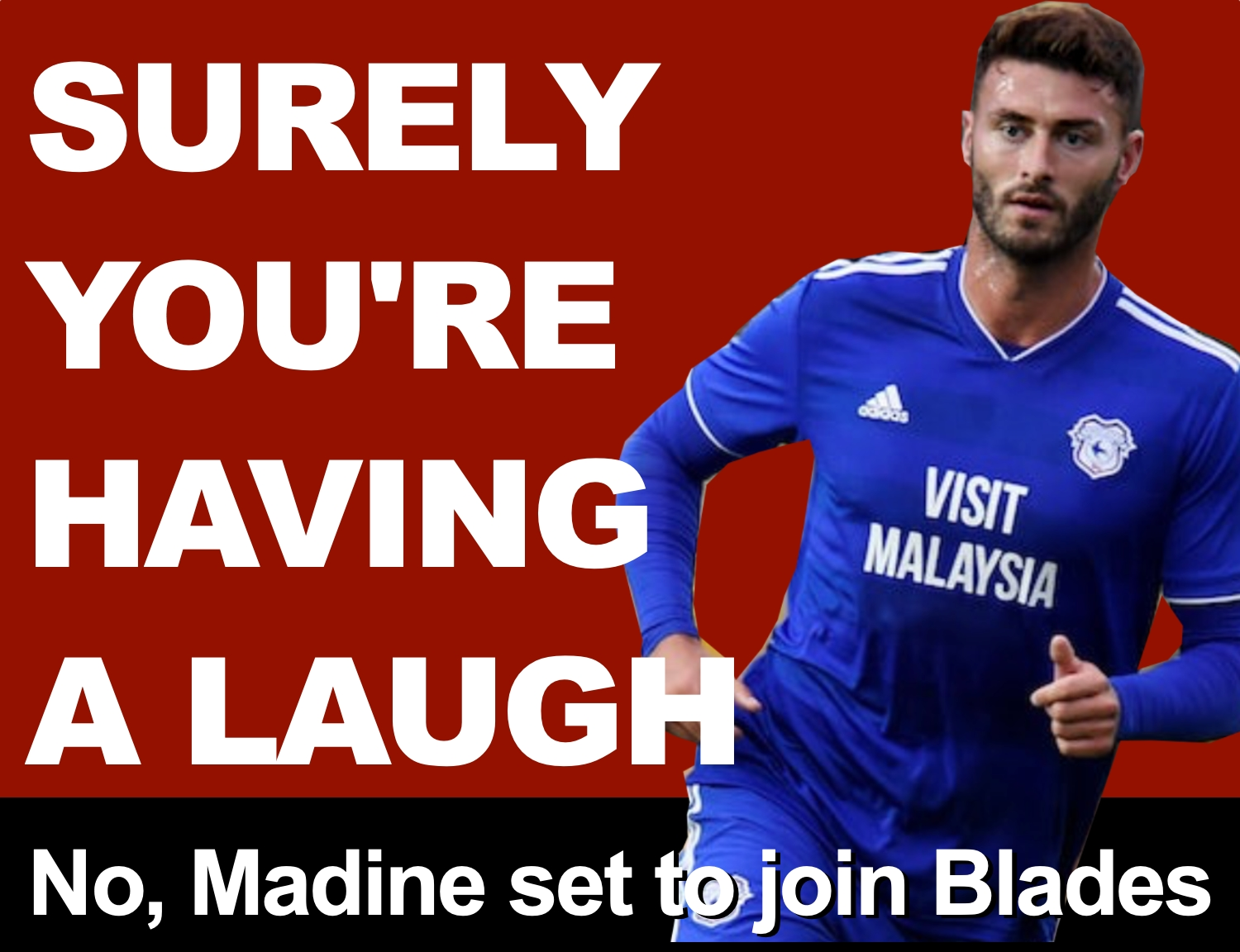 Gary Madine, the former Owl Sheffield United fans love to hate, is joining the Blades on a six-month loan from Cardiff City