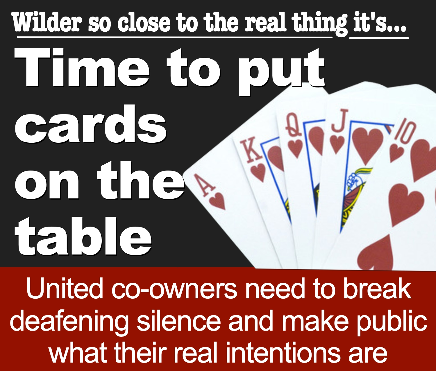 Time for Sheffield United's warring co-owners to put cards on the table as Blades boss Wilder moves ever-closer to Premier dream at Bramall Lane