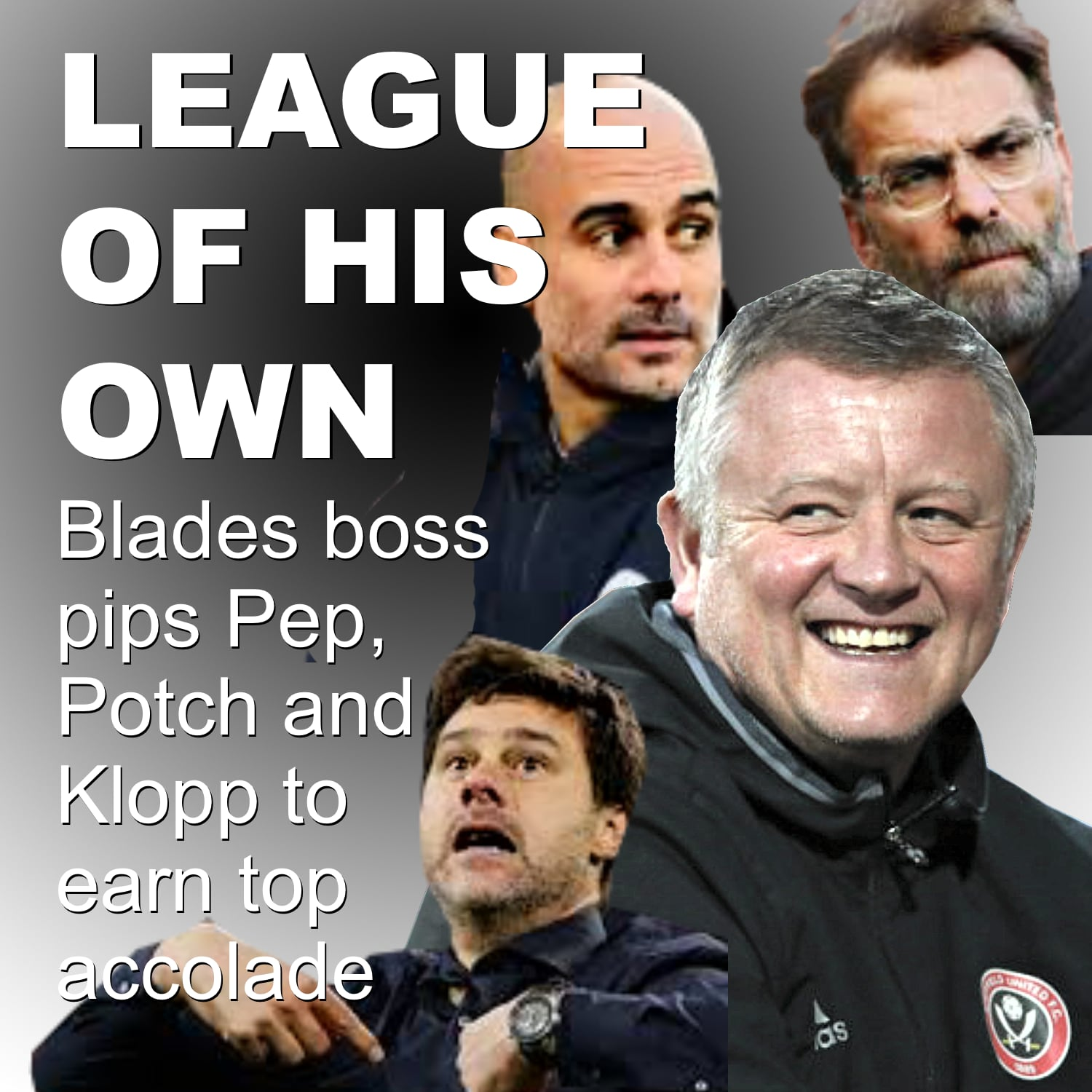 Sheffield United boss pips Pep, Potch and Klopp to earn LMA's top accolade