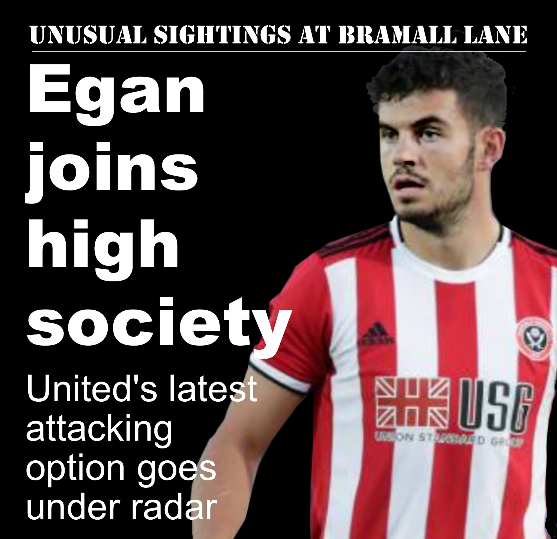 Agent Egan is Sheffield United's secret weapon