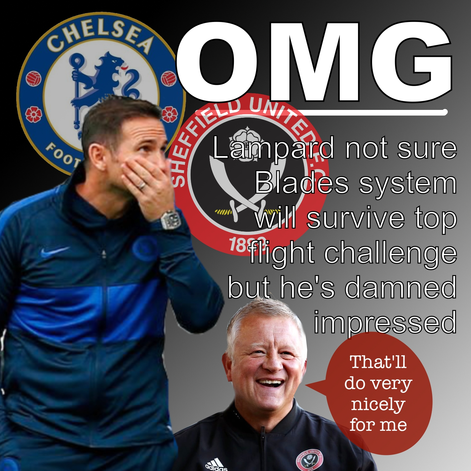 Sheffield United impress stunned Chelsea boss Frank Lampard after Blades recovery at Stamford Bridge