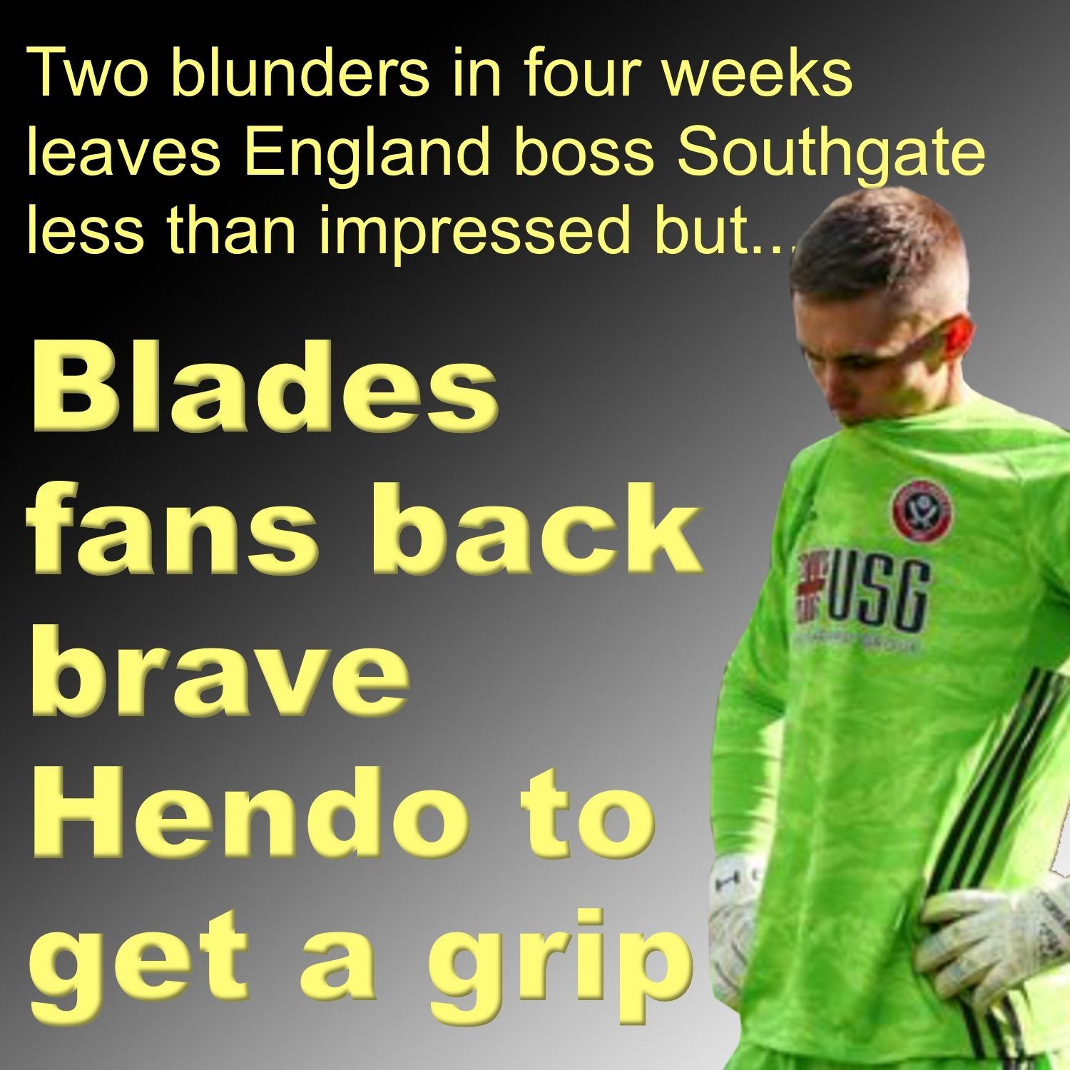 Dean Henderson backed by Blades to get a grip after nightmare moment against Liverpool