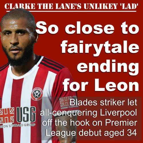 The Unlikely Lad Sheffield United Striker S Fairytale Chance To