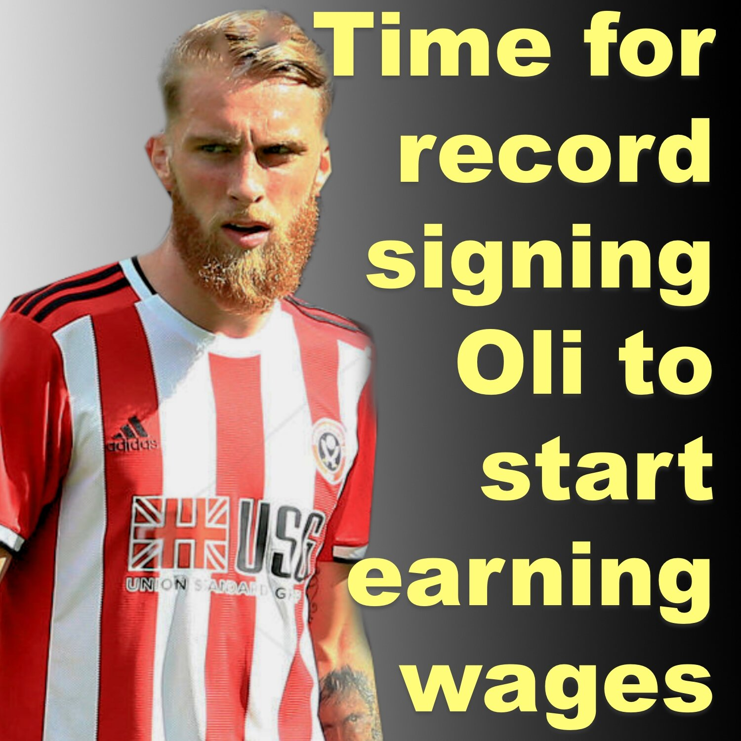 Time for Sheffield United's record signing Oli McBurnie to start earning his wages at Bramall Lane