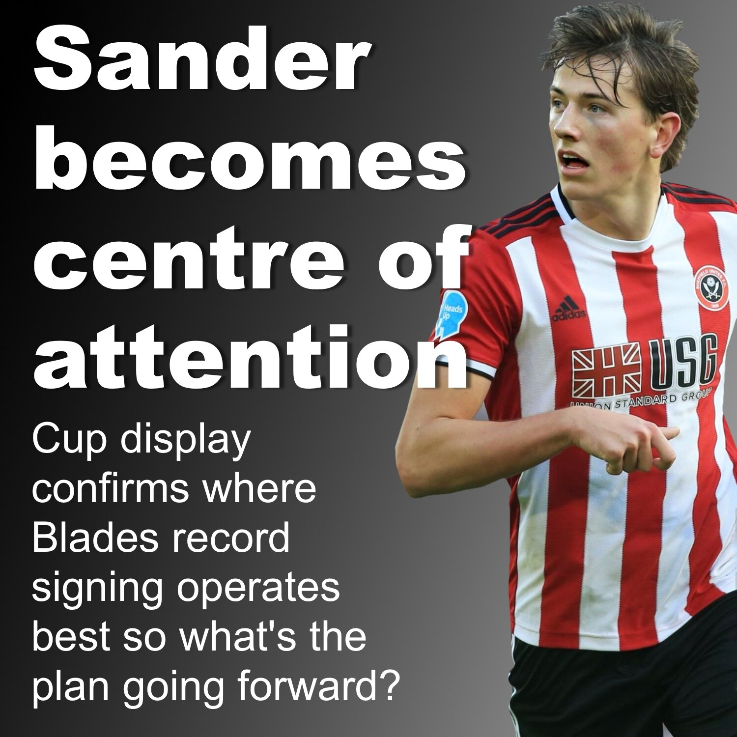 Record Signing Sander Berge Centre Of Attention To Give Sheffield
