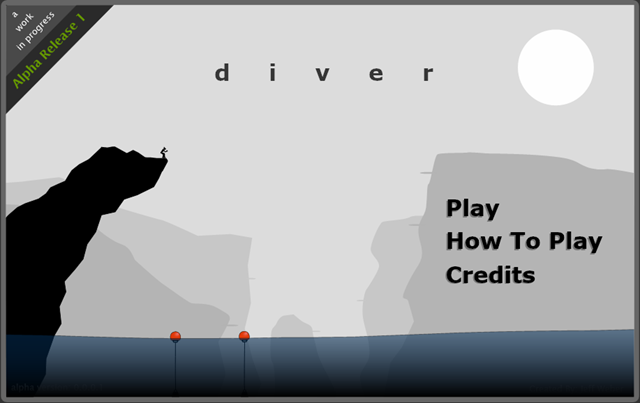 Diver 1 - My First Finished Game