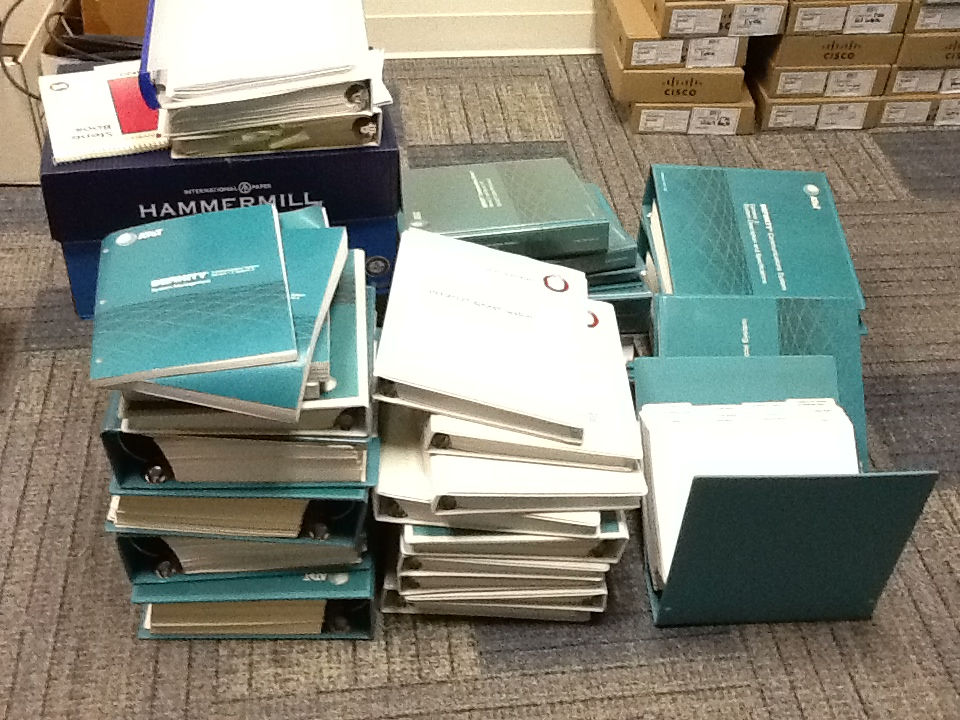 Our many manuals