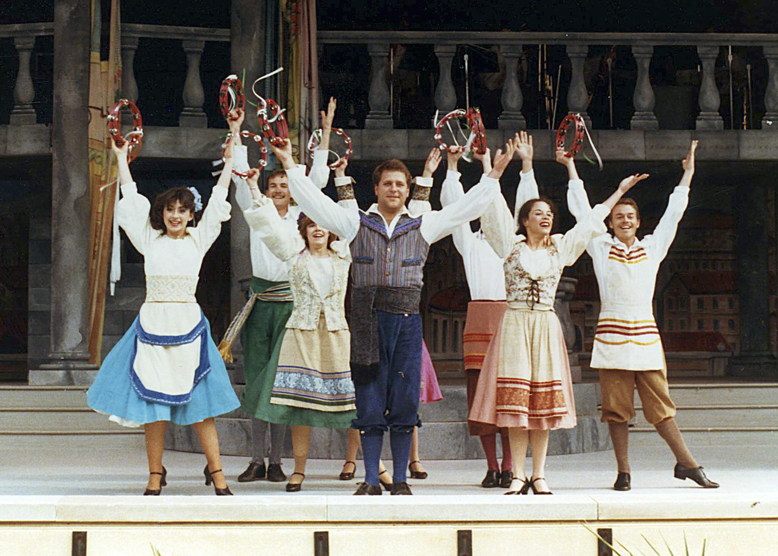 "1985 ""La Festa Italiana,"" Busch Gardens, Williamsburg, Virginia"