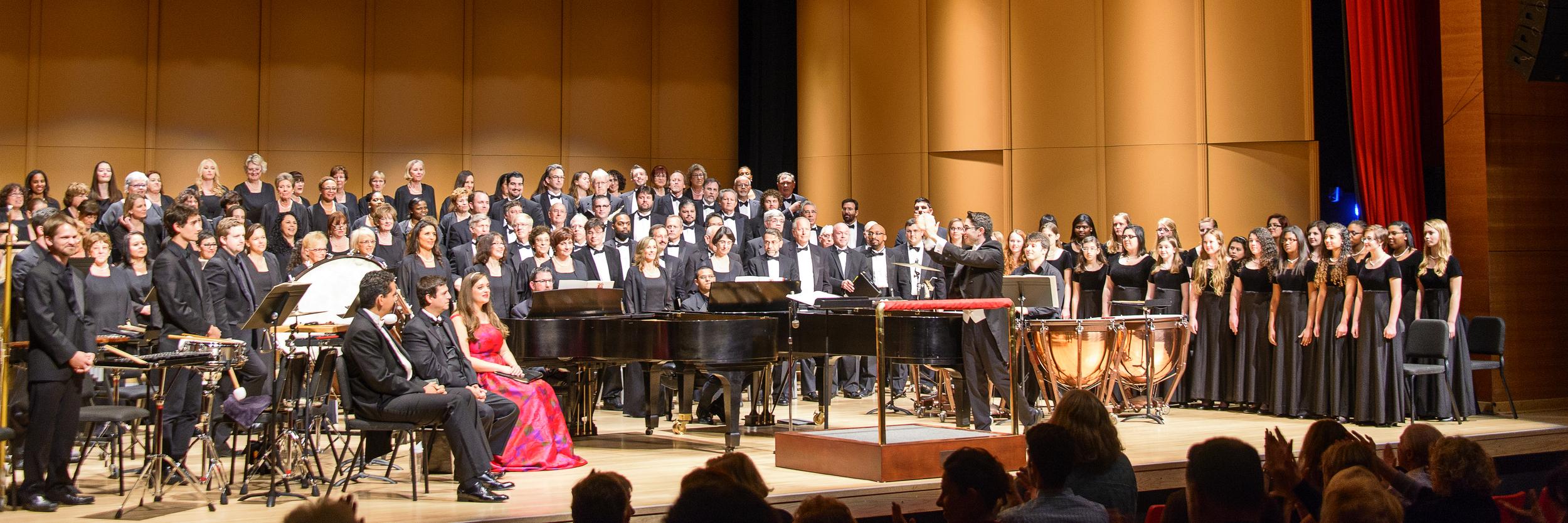 "2015  ""Carmina Burana,""  Master Chorale of South Florida at the  Wold Performing Arts Center, Lynn University, Boca Raton, Florida"