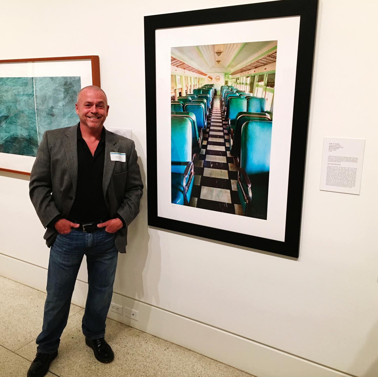 """Sentimental Journey"" on exhibit at the 51st Founders Juried Award, Naples Art Art Association's von Liebig Art Center, 2016"