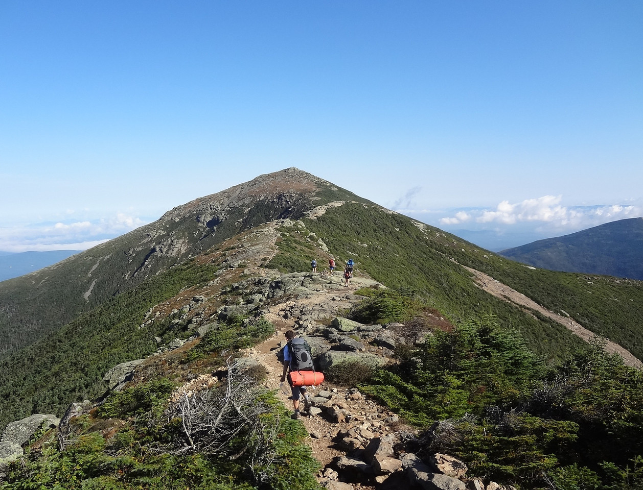 White Mountain camping trips.