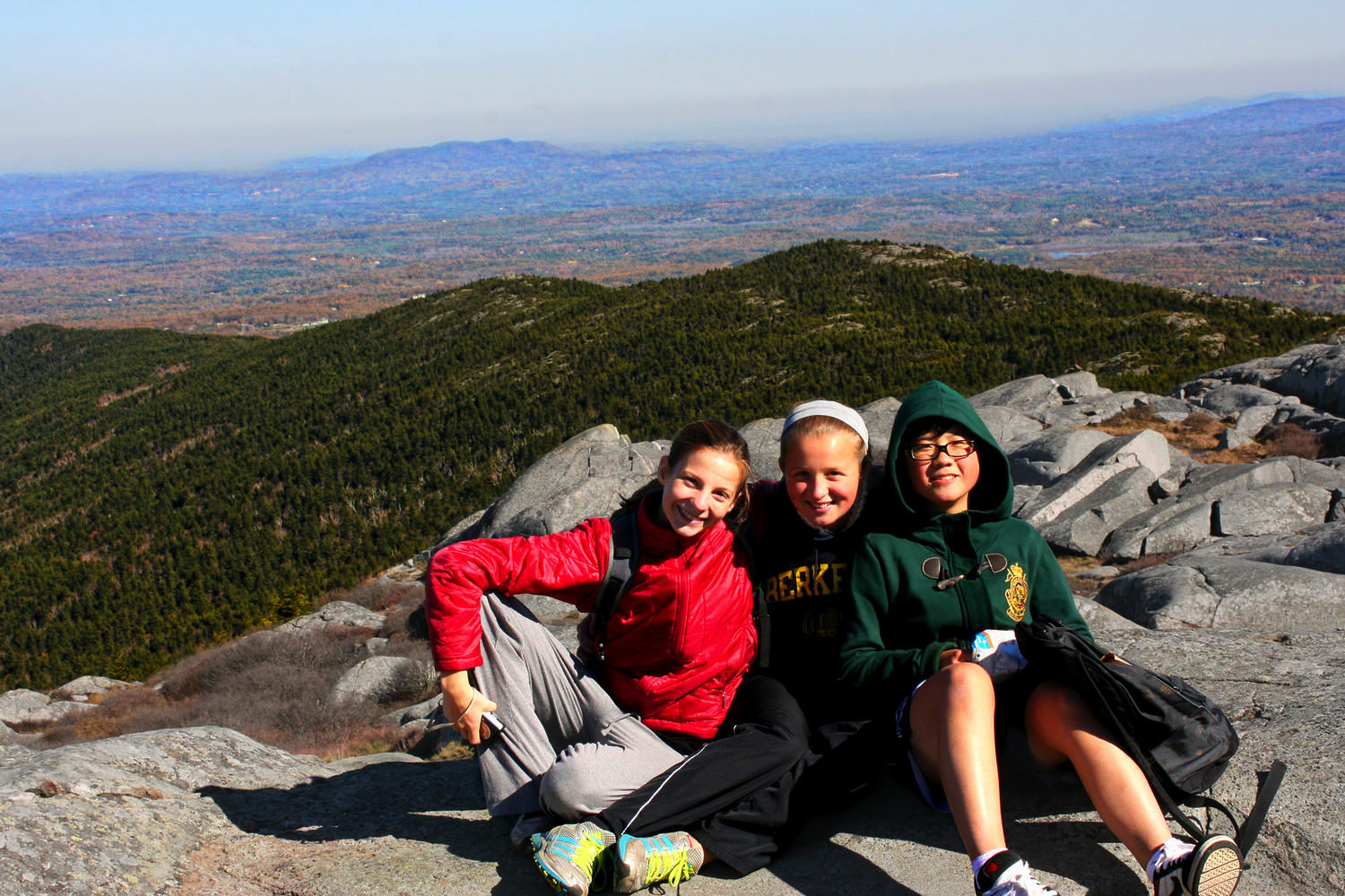 Mt. Monadnock from the top.