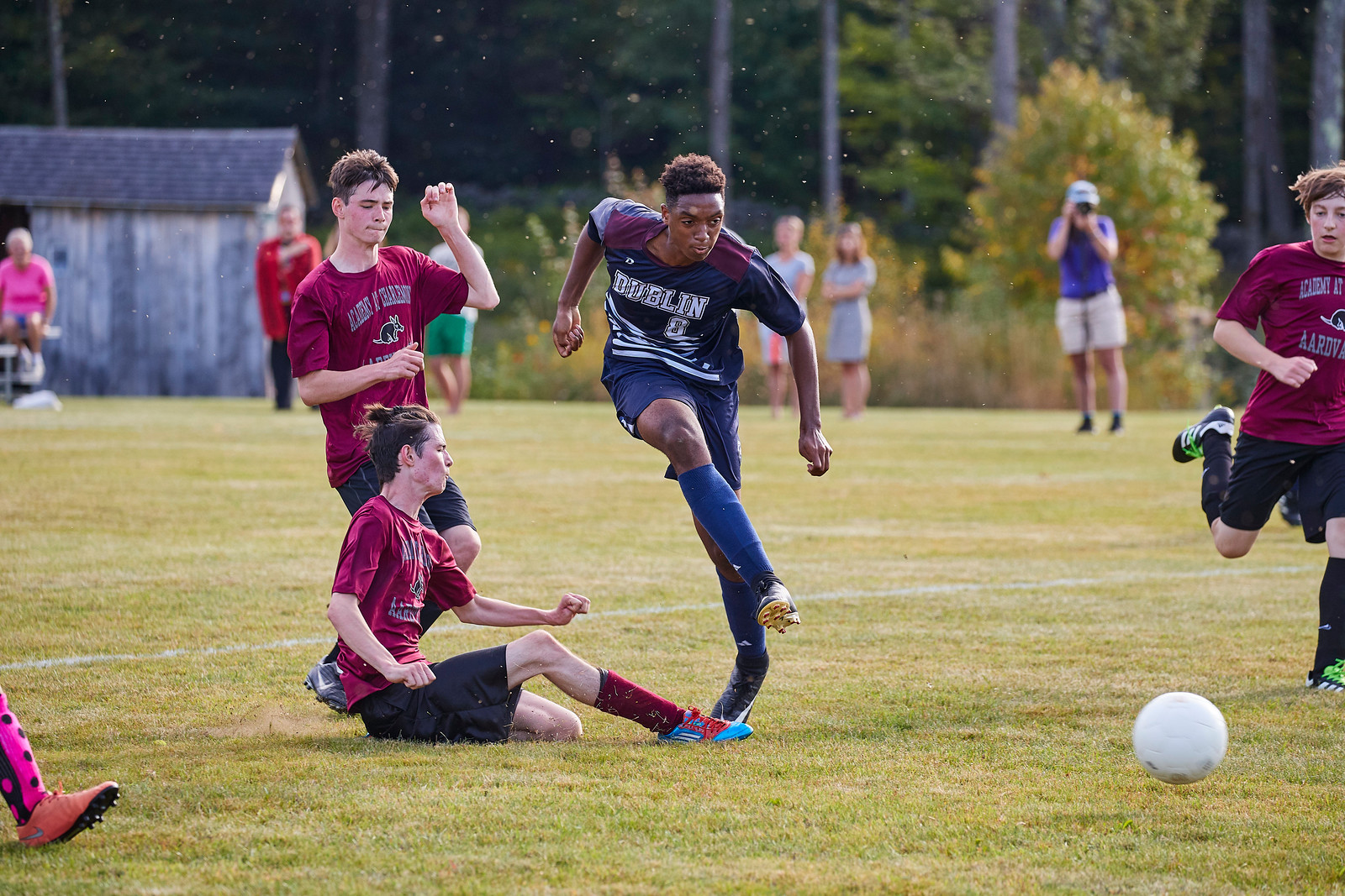 Fab has been a dominant soccer player at Dublin.