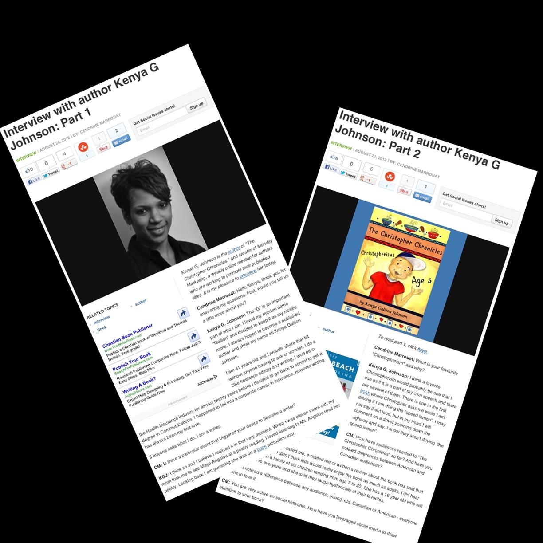 Snapshots of Examiner.com interview