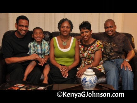 Daddy, Christopher, Mom, Me & My Brother June '09
