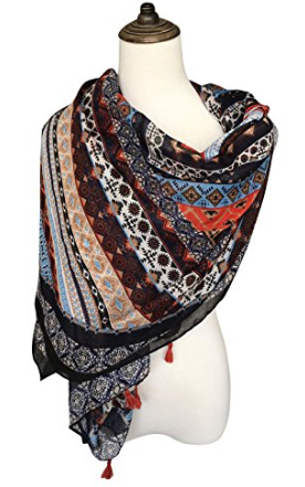 I LOVE THIS SCARF!!! - And it's even prettier in person.